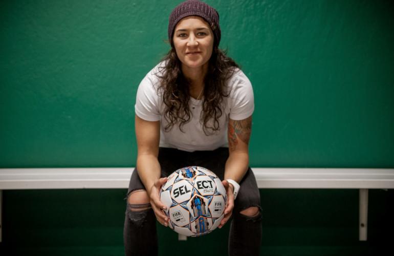 Soccer Player – Zaneta Wyne