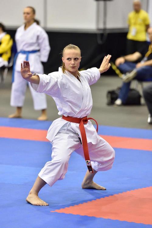 Karate Flyer-Sophia Graf