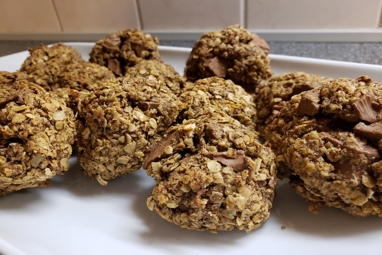 Oatmeal Flax Chocolate Chip Cookie Recipe