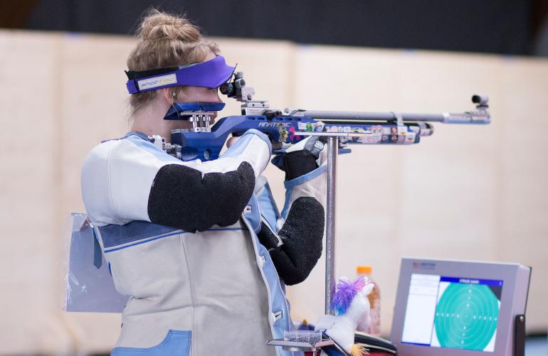Isabella Straub the Sharp Shooter